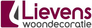 Lievens woondecoratie te Geel Logo